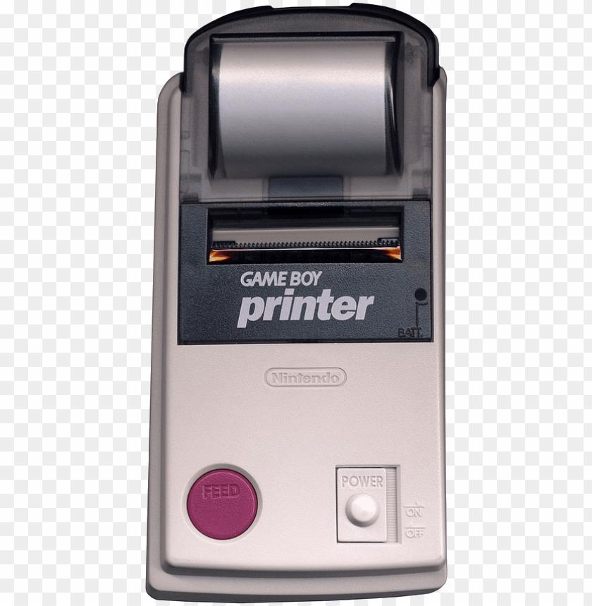 free PNG intendo game boy printer - game boy printer [nintendo game] PNG image with transparent background PNG images transparent