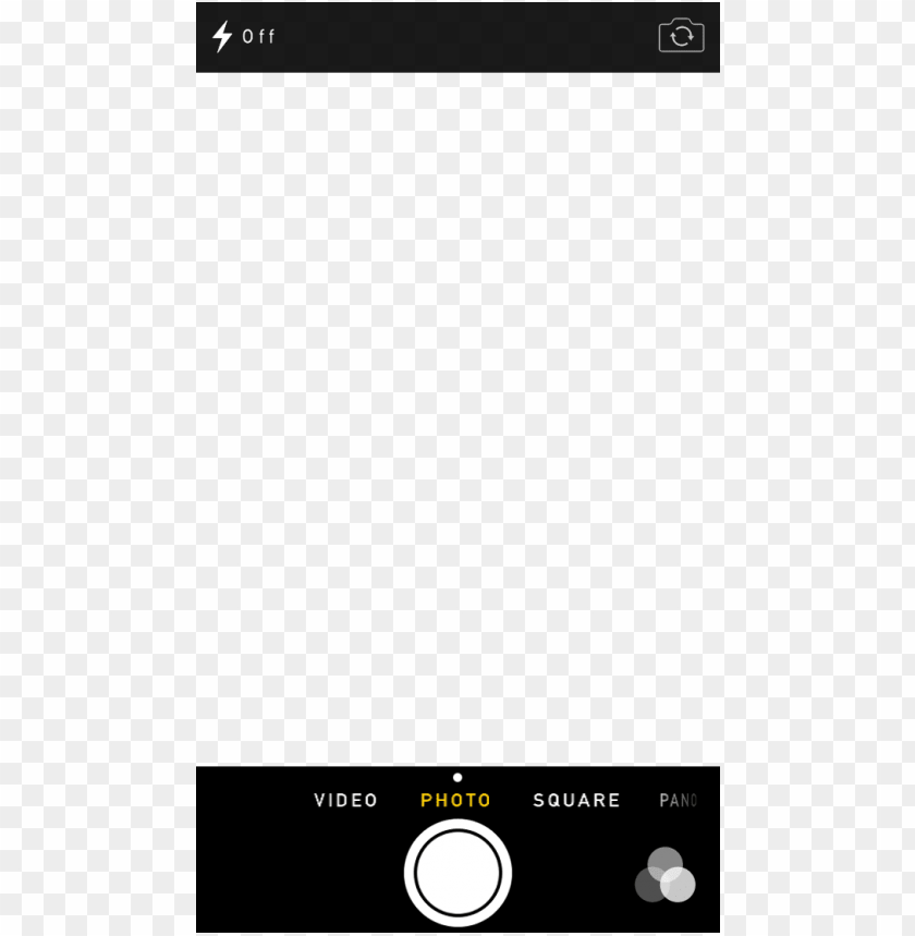 free PNG interactive ios 7 demo - iphone camera screen transparent PNG image with transparent background PNG images transparent