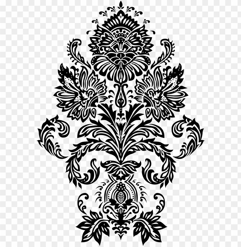 free PNG intricate victorian pattern, victorian design, digi - flower victorian pattern vector PNG image with transparent background PNG images transparent