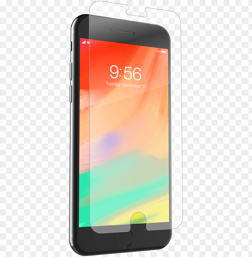 free PNG invisibleshield original for the apple iphone 7 plus - zagg invisibleshield screen protector iphone PNG image with transparent background PNG images transparent