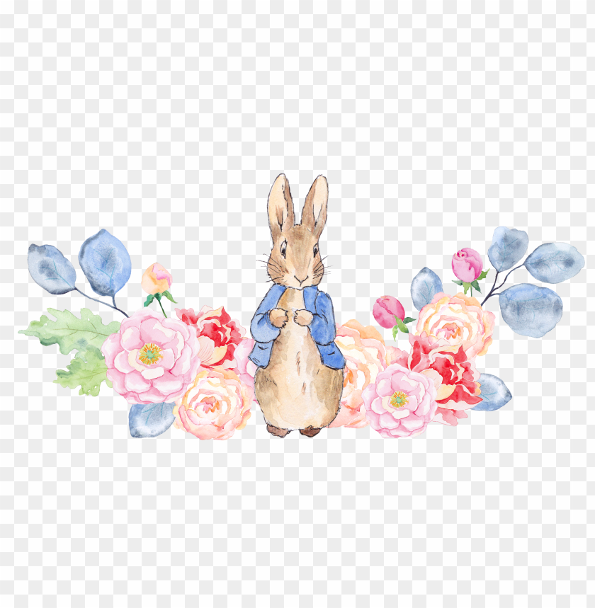 free PNG ion123 - peter rabbit watercolor elements PNG image with transparent background PNG images transparent
