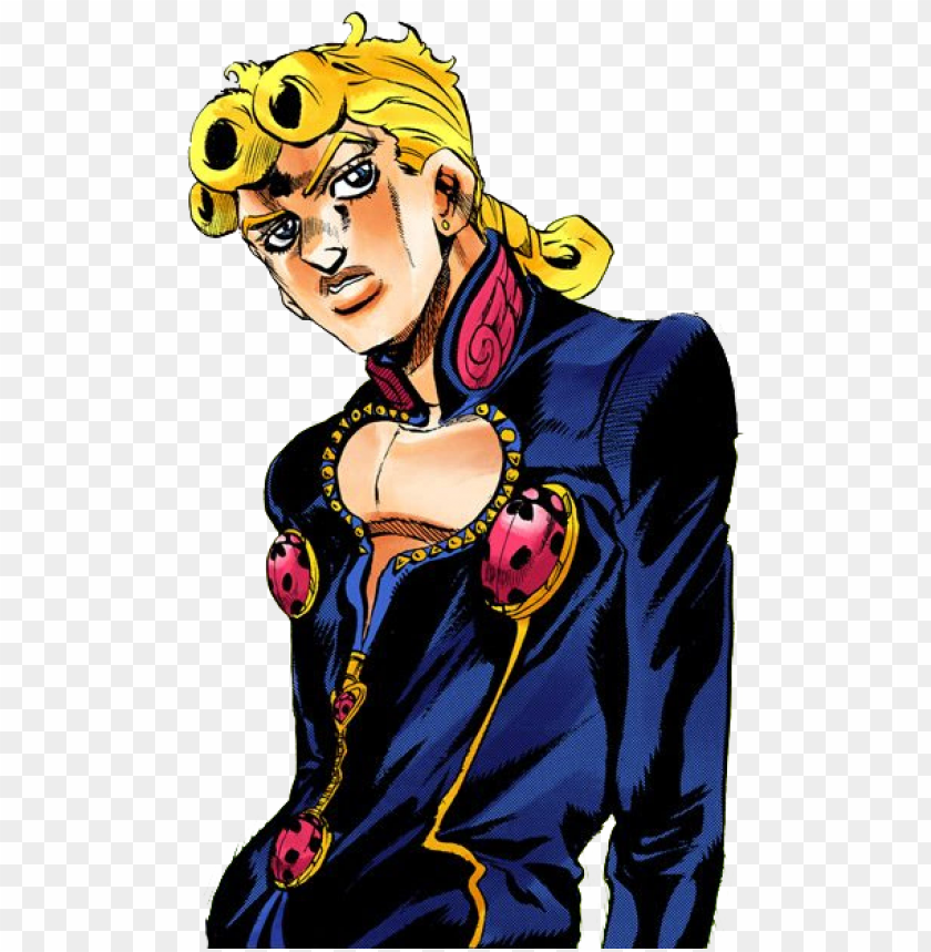 Iorno Png Giorno Giovanna Manga Transparent Png Image With