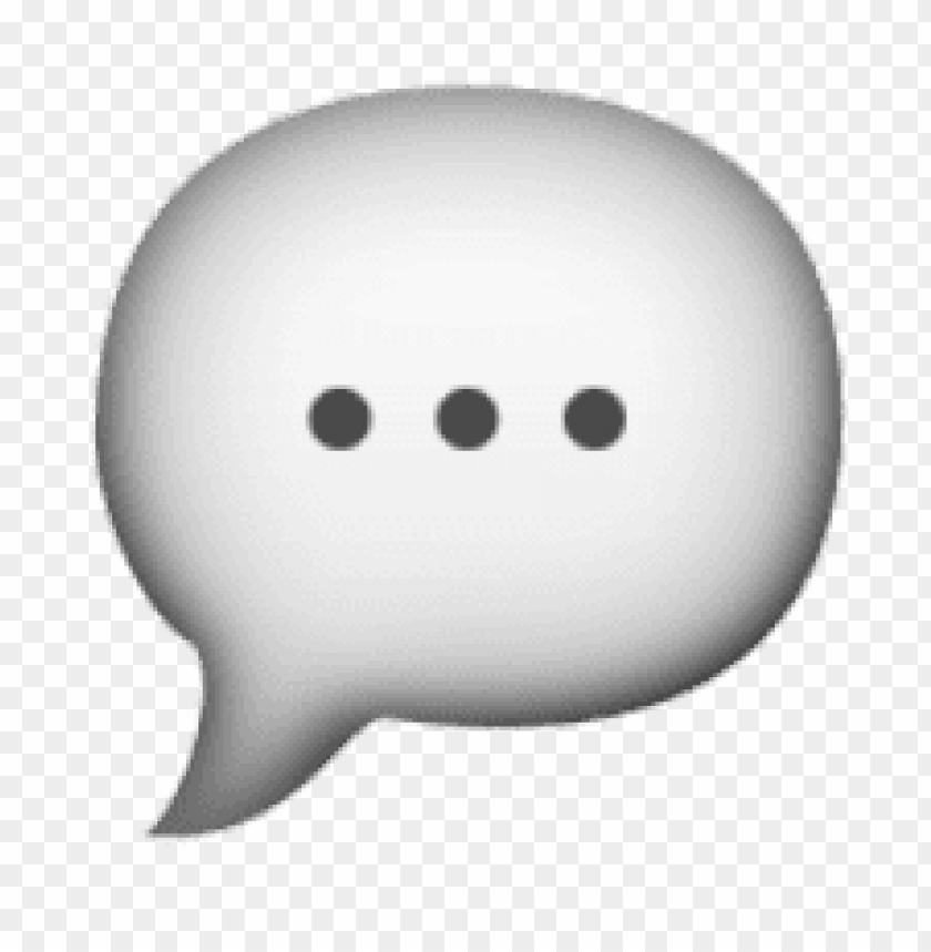 free PNG Download ios emoji speech balloon clipart png photo   PNG images transparent