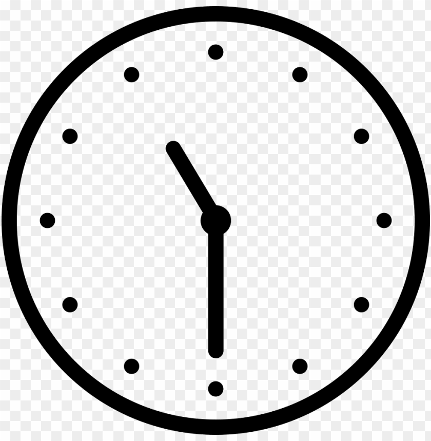 free PNG ios time outline svg png icon free download 411745 - clock outline PNG image with transparent background PNG images transparent