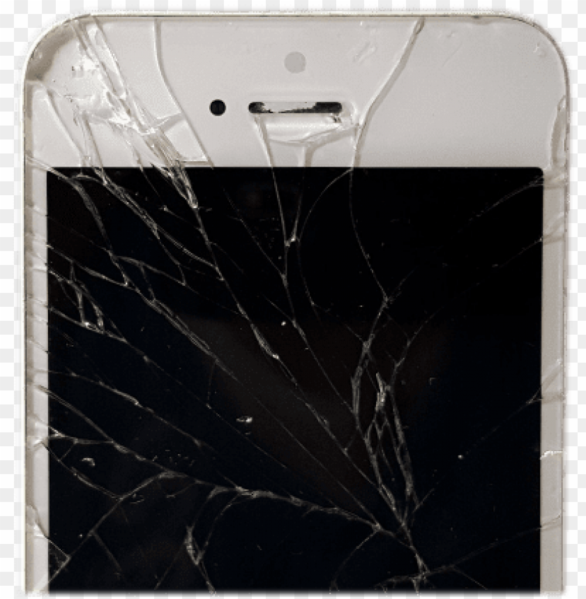 free PNG iphone 5s broken screen - iphone PNG image with transparent background PNG images transparent