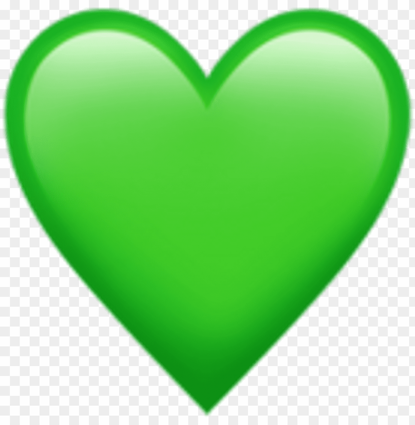 free PNG iphone emoji heart green clip transparent library - green heart emoji PNG image with transparent background PNG images transparent