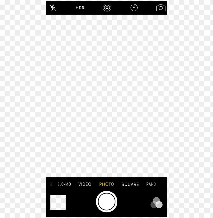 free PNG iphone - iphone camera screen template PNG image with transparent background PNG images transparent