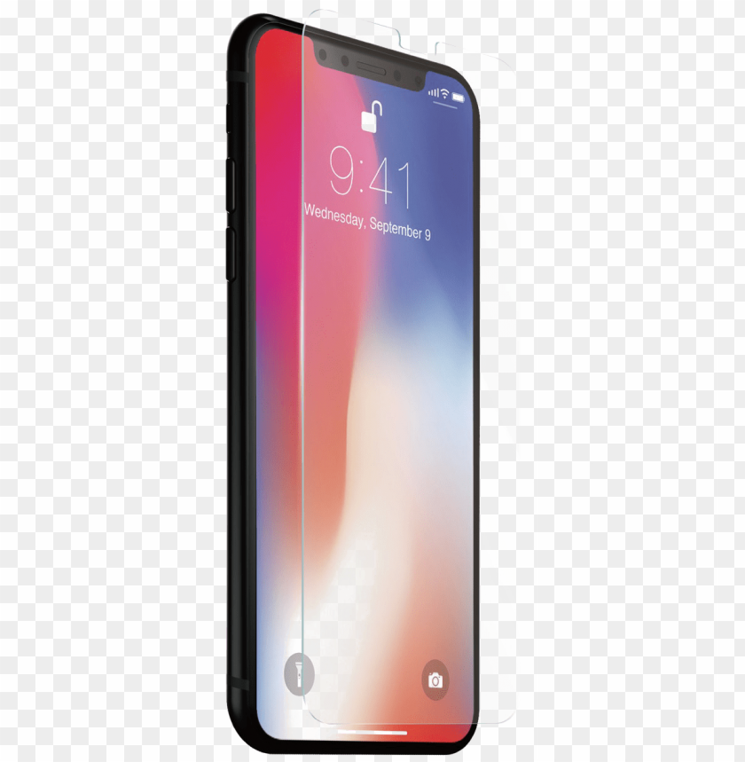 free PNG iphone x download transparent png image - tempered glass iphone x PNG image with transparent background PNG images transparent