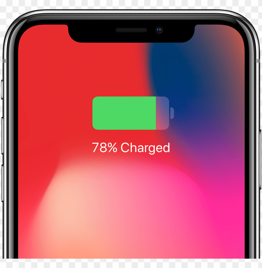 free PNG iphone x with wireless charging - iphone x charging ico PNG image with transparent background PNG images transparent