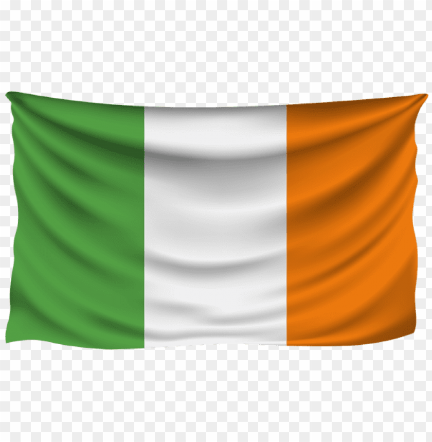 free PNG Download ireland wrinkled flag clipart png photo   PNG images transparent