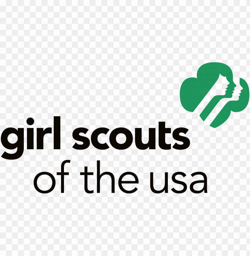 free PNG irl scout logo usa vector - girl scouts of the usa PNG image with transparent background PNG images transparent