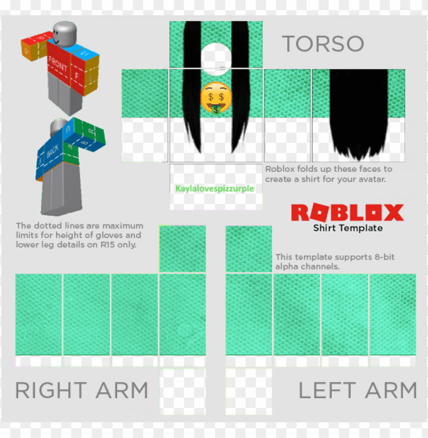 nike shirt roblox template