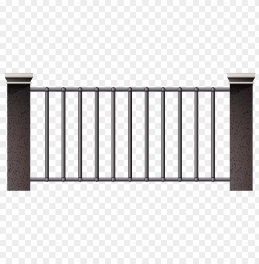 free PNG Download iron fence clipart png photo   PNG images transparent