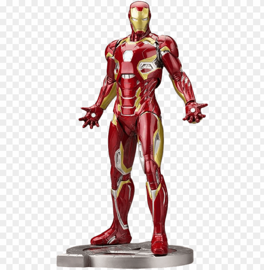 free PNG iron man mk 45 artfx+ figure PNG image with transparent background PNG images transparent