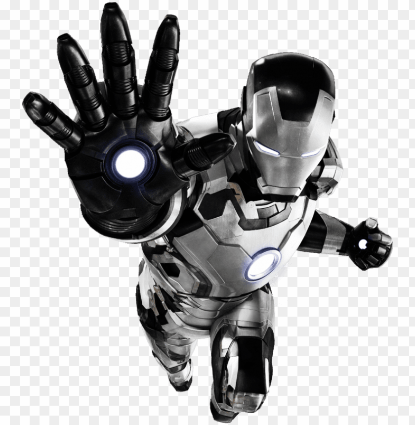 free PNG iron man mk - iron man art black and white PNG image with transparent background PNG images transparent
