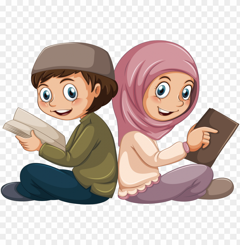 free PNG islam muslim boy illustration - muslim cartoon readi PNG image with transparent background PNG images transparent