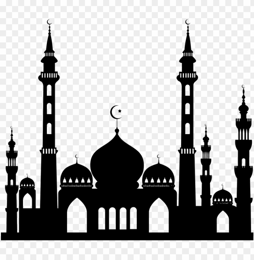 free PNG islam png - mosque silhouette PNG image with transparent background PNG images transparent