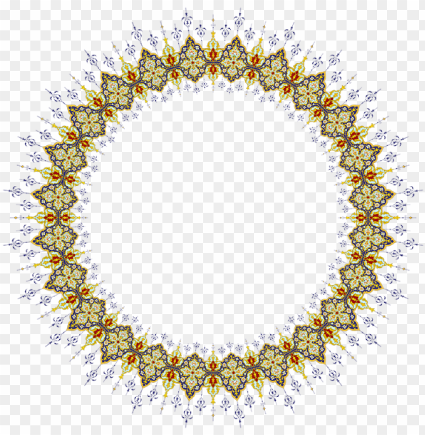 free PNG islamic patterns, art patterns, pattern art, quran - circle frame png islamic PNG image with transparent background PNG images transparent