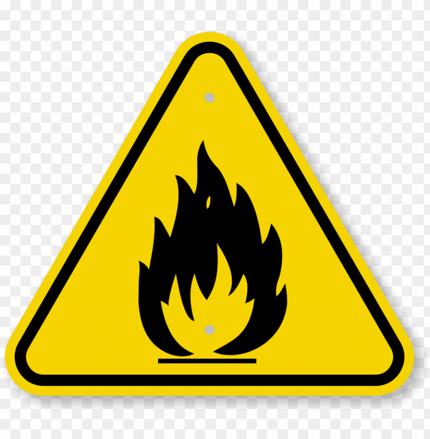 free PNG iso fire hazard symbol warning sign - fire hazard symbol PNG image with transparent background PNG images transparent