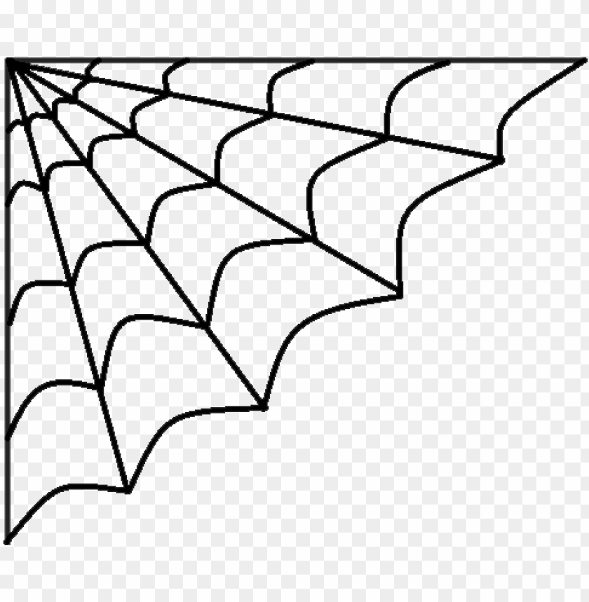 free PNG isolated spider web icon on a white background - halloween spider web clipart PNG image with transparent background PNG images transparent