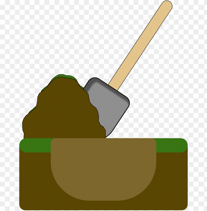 free PNG istock royalty payment hole/pile cartoon - dig hole clipart PNG image with transparent background PNG images transparent