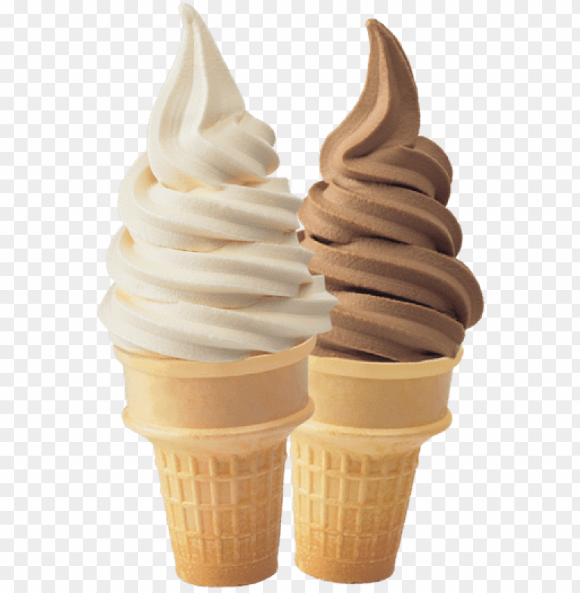 free PNG it also contains a ton of emulsifiers and stabilizers - soft serve ice cream cone PNG image with transparent background PNG images transparent