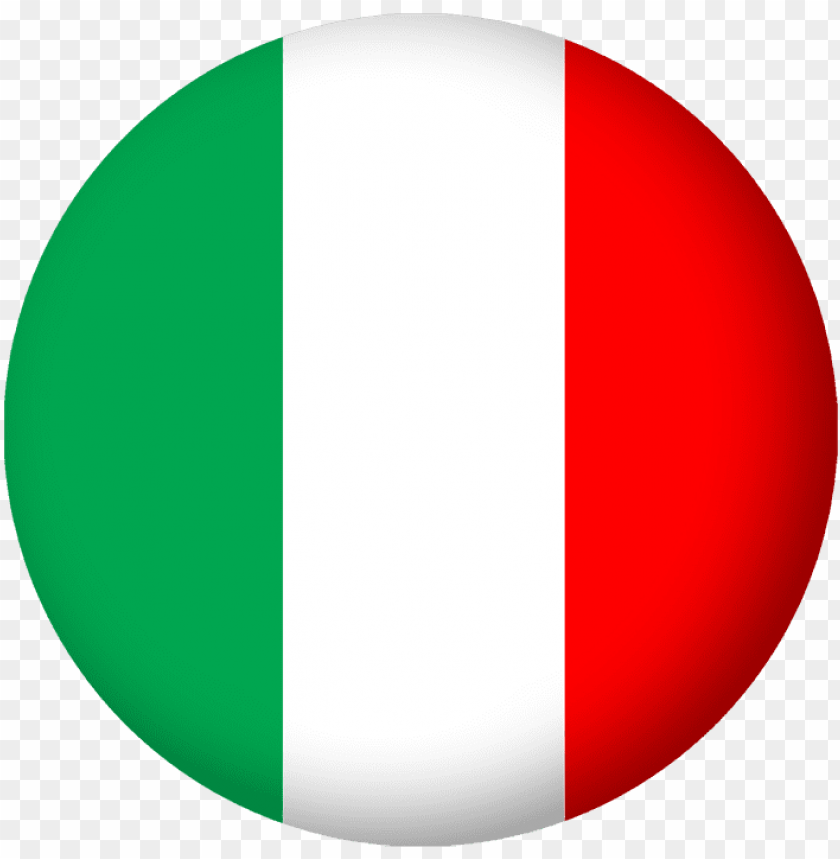 free PNG italian flag - italy flag circle PNG image with transparent background PNG images transparent