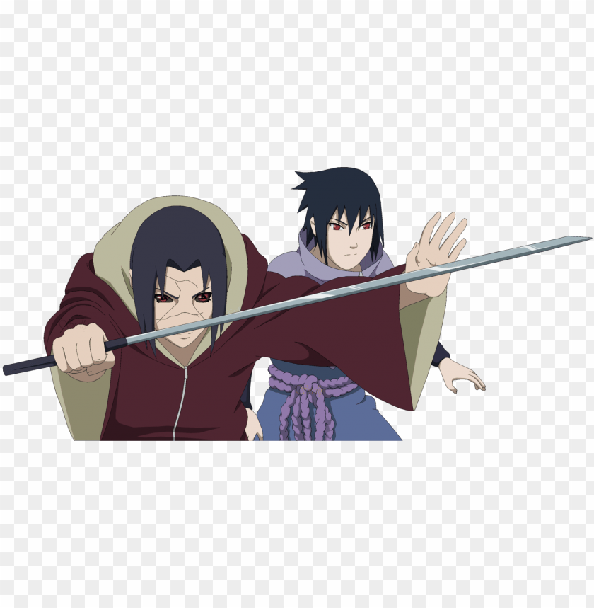 Itasasu Images Itachi And Sasuke Lineart Colored Hd Itachi Uchiha Png Image With Transparent Background Toppng