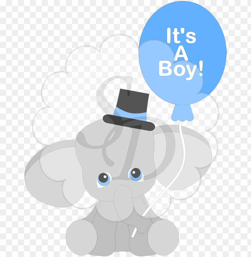 Its A Boy Elephant Png Image With Transparent Background Toppng Baby elephant nursery print, children wall. its a boy elephant png image with