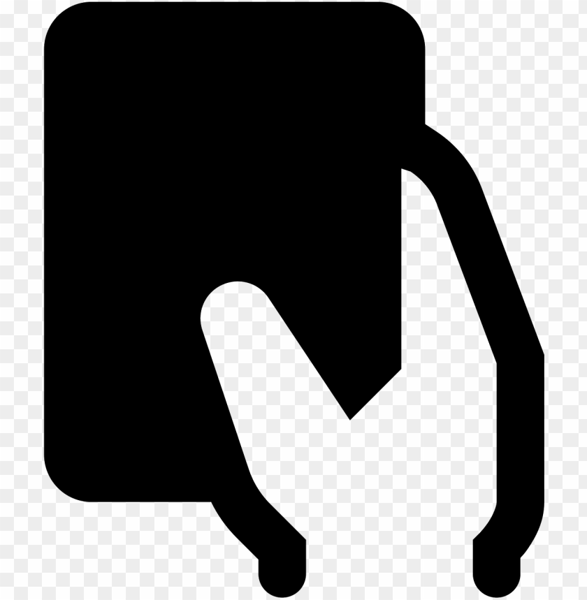 free PNG it's an icon with a hand holding a rectangular foul - hand PNG image with transparent background PNG images transparent
