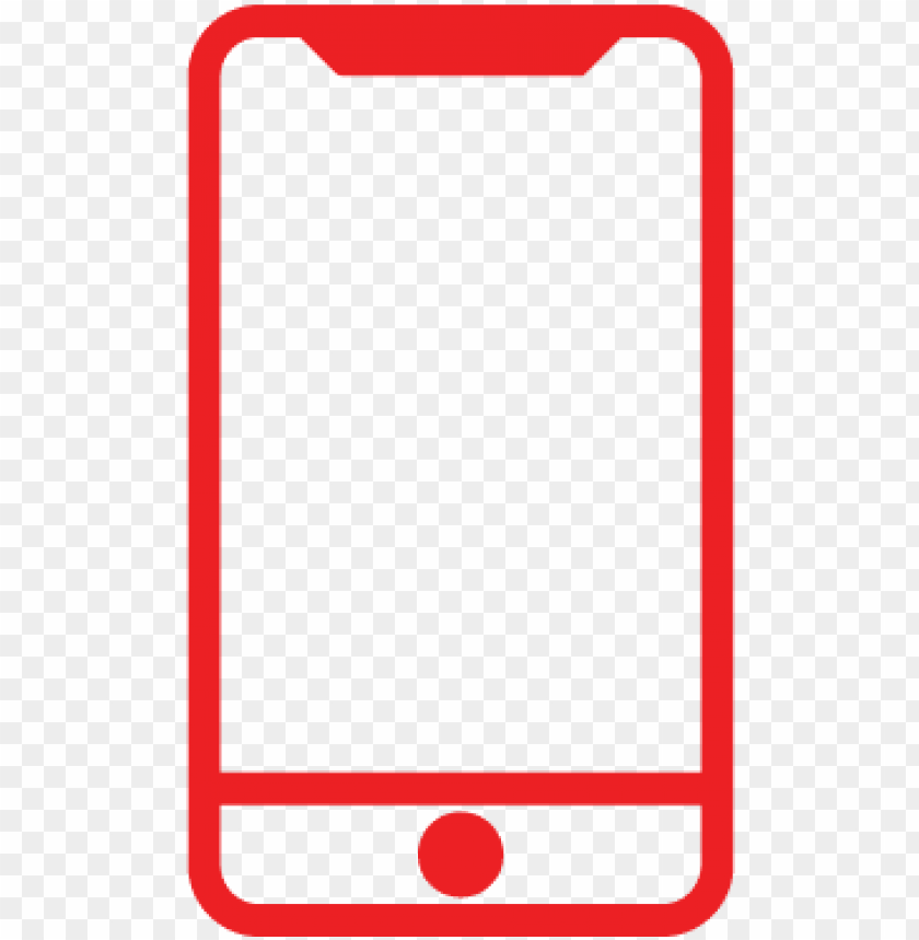 Ive Us A Call 1 Red Mobile Icon Png Image With Transparent