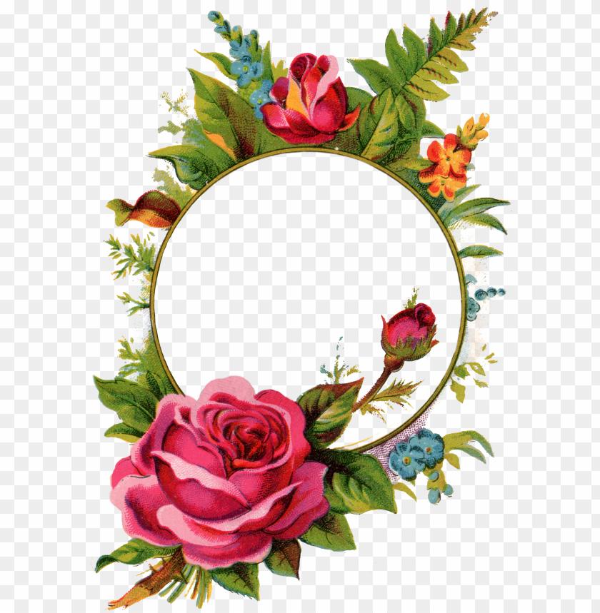 free PNG ix for > vintage rose frame - vintage rose frame free PNG image with transparent background PNG images transparent