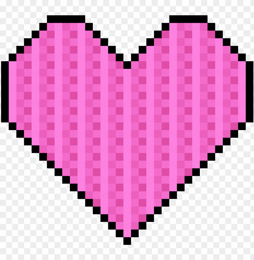 free PNG ixel art heart clipart freeuse download - pink pixel heart love tankto PNG image with transparent background PNG images transparent