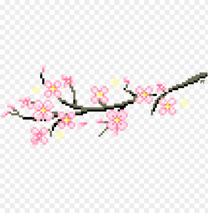 Ixelart Flowers Glitter Sparkles Flower Clipart Aesthetic Cherry Blossom Transparent Gif Png Image With Transparent Background Toppng