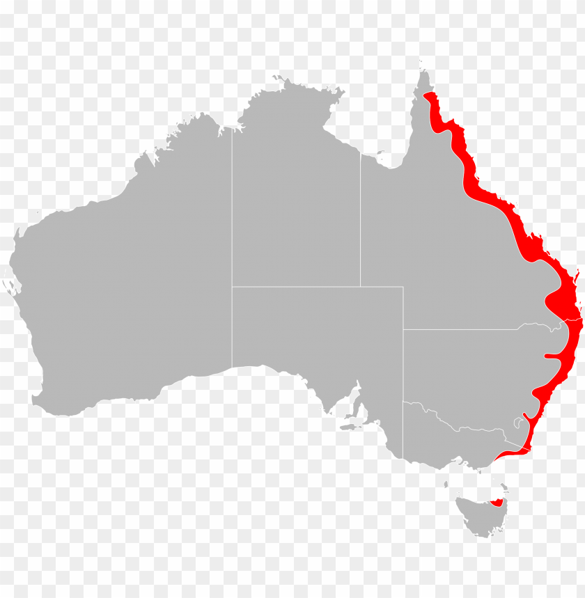 free PNG ixodes holocyclus range map - no australia PNG image with transparent background PNG images transparent