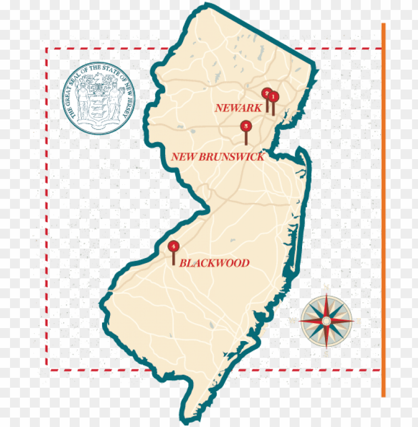 free PNG j map with campus location markers - rutgers university nj ma PNG image with transparent background PNG images transparent