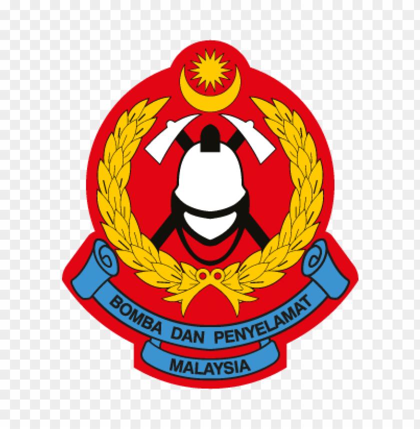 Jabatan Bomba Dan Penyelamat Malaysia Vector Logo Toppng