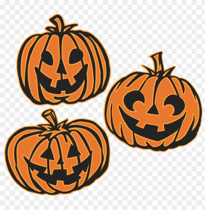 free PNG jack o lanterns set svg cutting files pumpkin svg cuts - jack o lantern sv PNG image with transparent background PNG images transparent