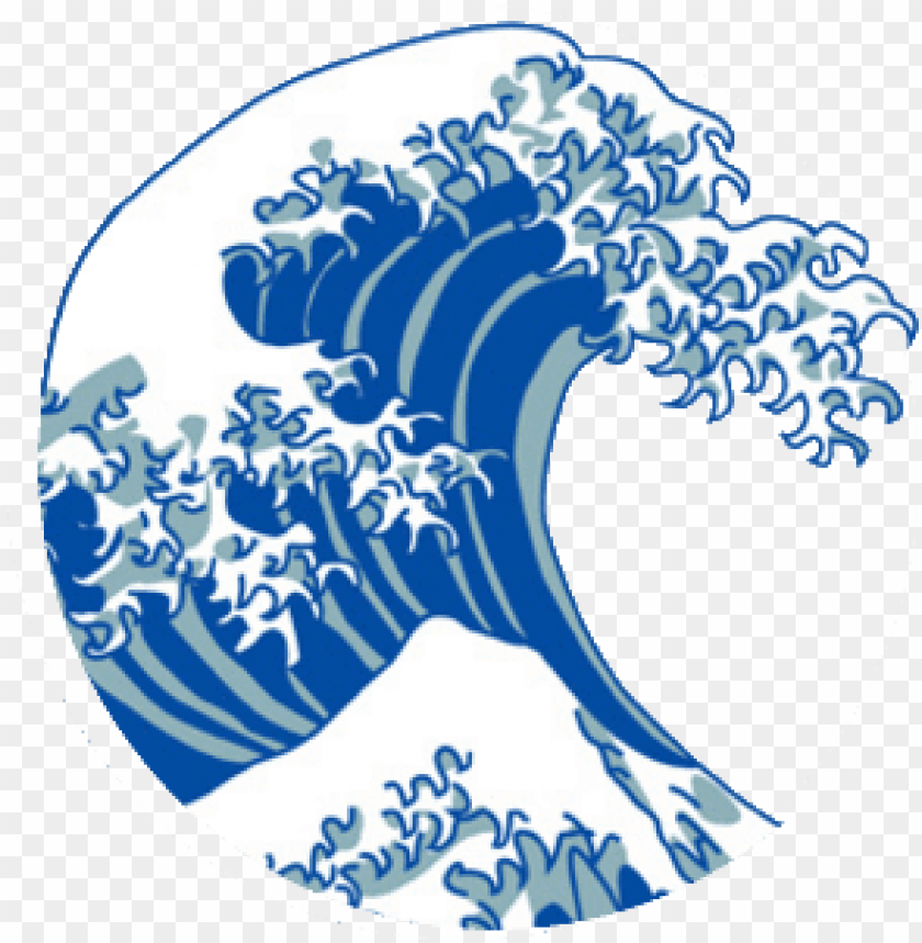 free PNG japanese wave png - great wave off kanagawa PNG image with transparent background PNG images transparent