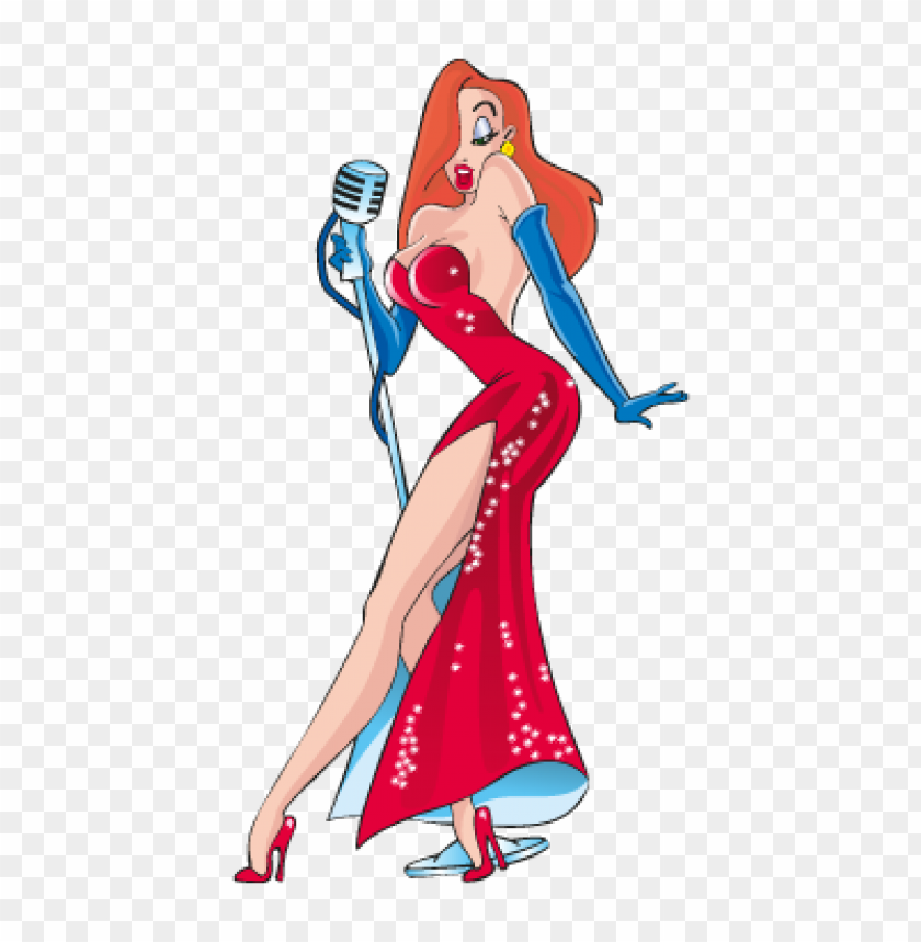 free PNG jessica rabbit vector download free PNG images transparent
