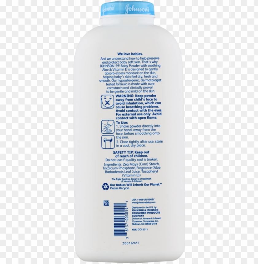 free PNG johnson's baby powder soothing aloe & vitamin e, pure - johnson's baby powder pure cornstarch with aloe PNG image with transparent background PNG images transparent