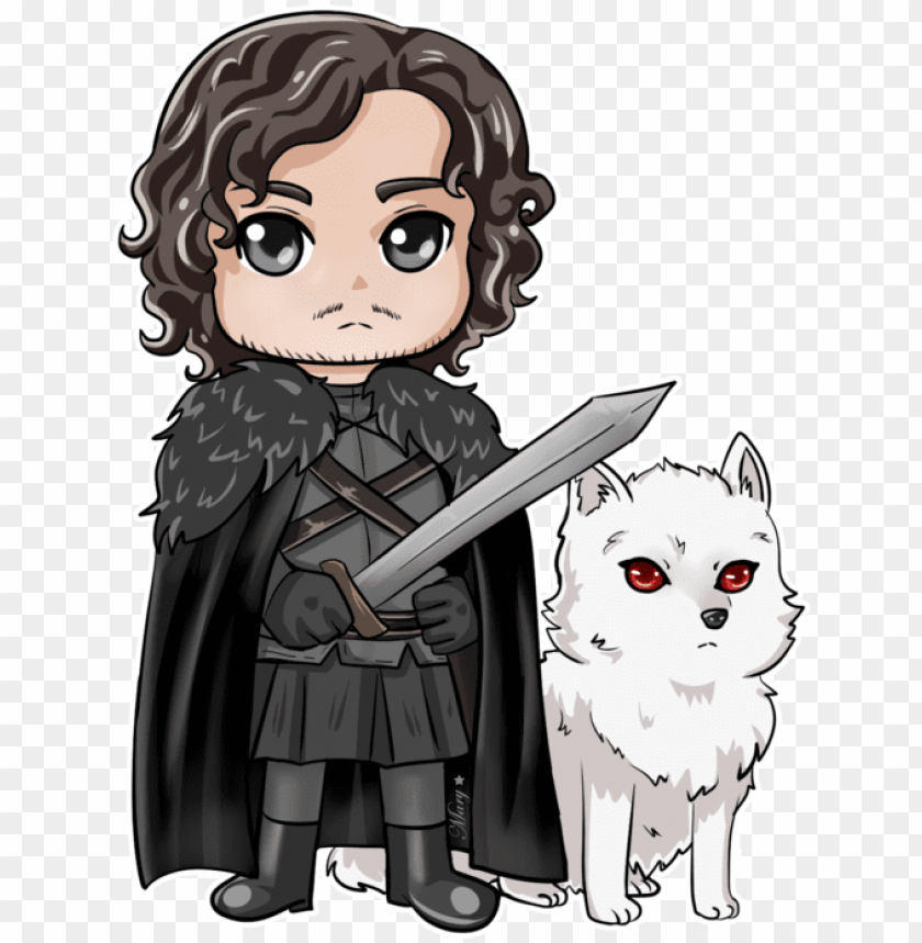 free PNG jon snow, game of thrones tattoo, chibi, fanart, daenerys, - game of thrones chibi jon snow PNG image with transparent background PNG images transparent