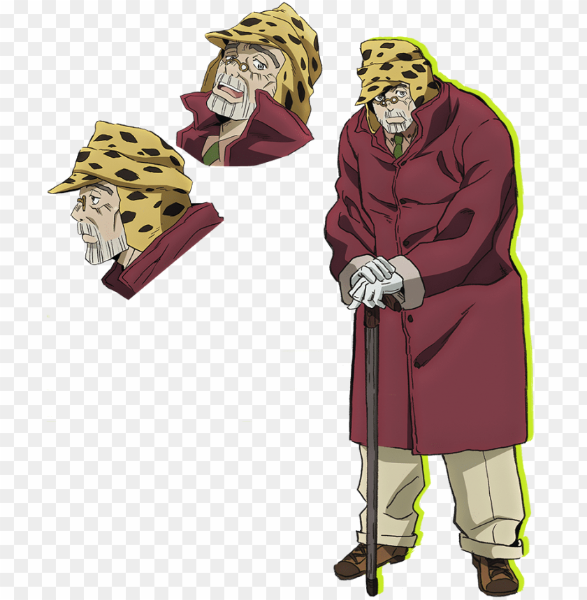 joseph part 4 key art - joseph joestar parte 4 PNG image with transparent background@toppng.com