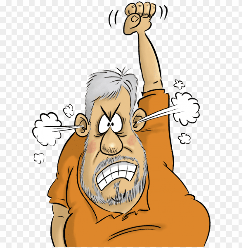 free PNG jpg black and white grumpy old men clipart - cranky old man cartoon transparent PNG image with transparent background PNG images transparent