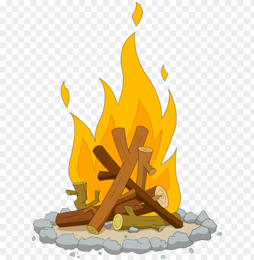 Summer Camp, : Telling Story Summer Camp Campfire Coloring Page ... | 859x840