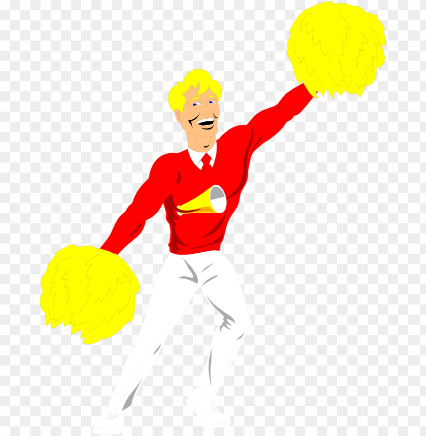 Cool Cheerleader Cliparts - Cheerleader Clipart - Free Transparent PNG  Clipart Images Download