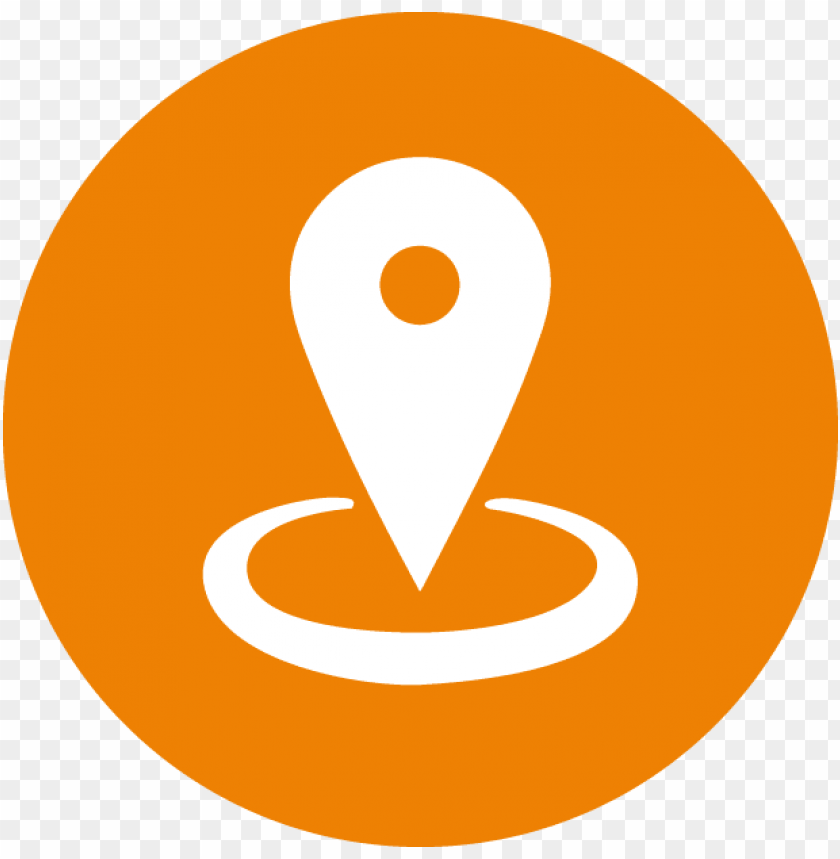 free PNG jpg free stock location clipart office address - orange location icon PNG image with transparent background PNG images transparent