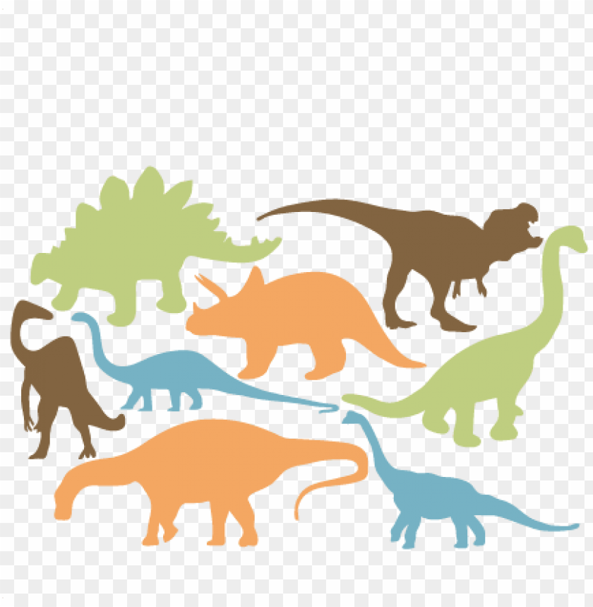 free PNG jpg freeuse dinosaur silhouette free at getdrawings - dinosaur silhouette sv PNG image with transparent background PNG images transparent