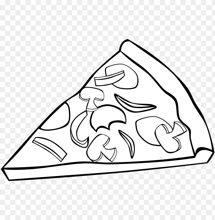 free PNG jpg freeuse library collection of pizza high quality - pizza slice clip art black and white PNG image with transparent background PNG images transparent