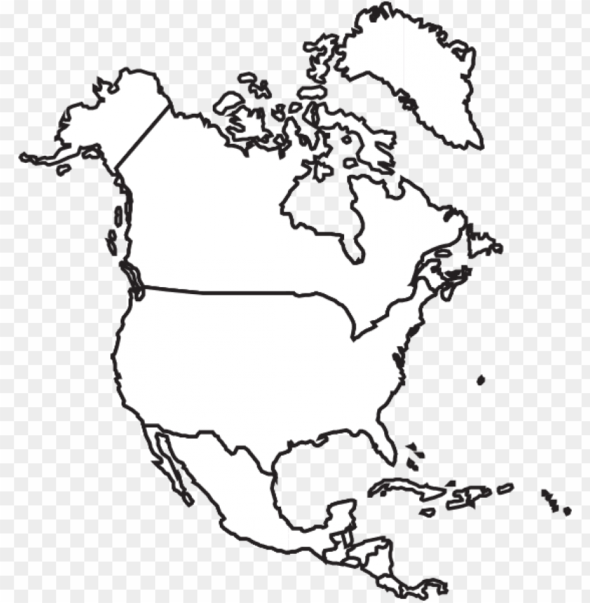 free PNG jpg freeuse map clip art at clker com vector - outline north american rivers ma PNG image with transparent background PNG images transparent